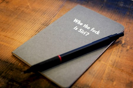 Just finished printing these notebooks. For  those who like writing instead of dictating. #letterpress